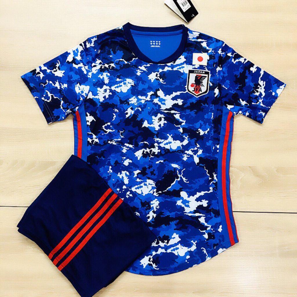 Áo bóng đá đội tuyển Nhật Bản màu xanh 2019 độc quyền Belo Sport