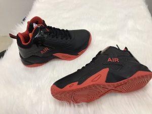 Giày bóng rổ màu đen đế đỏ LZBU độc quyền phân phối Belo Sport