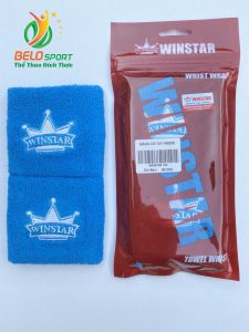 Băng cổ tay Winstar Ws235 màu xanh dương chính hãng
