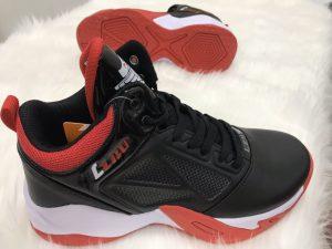Giày bóng rổ màu đen đế cam LZBU độc quyền phân phối Belo Sport