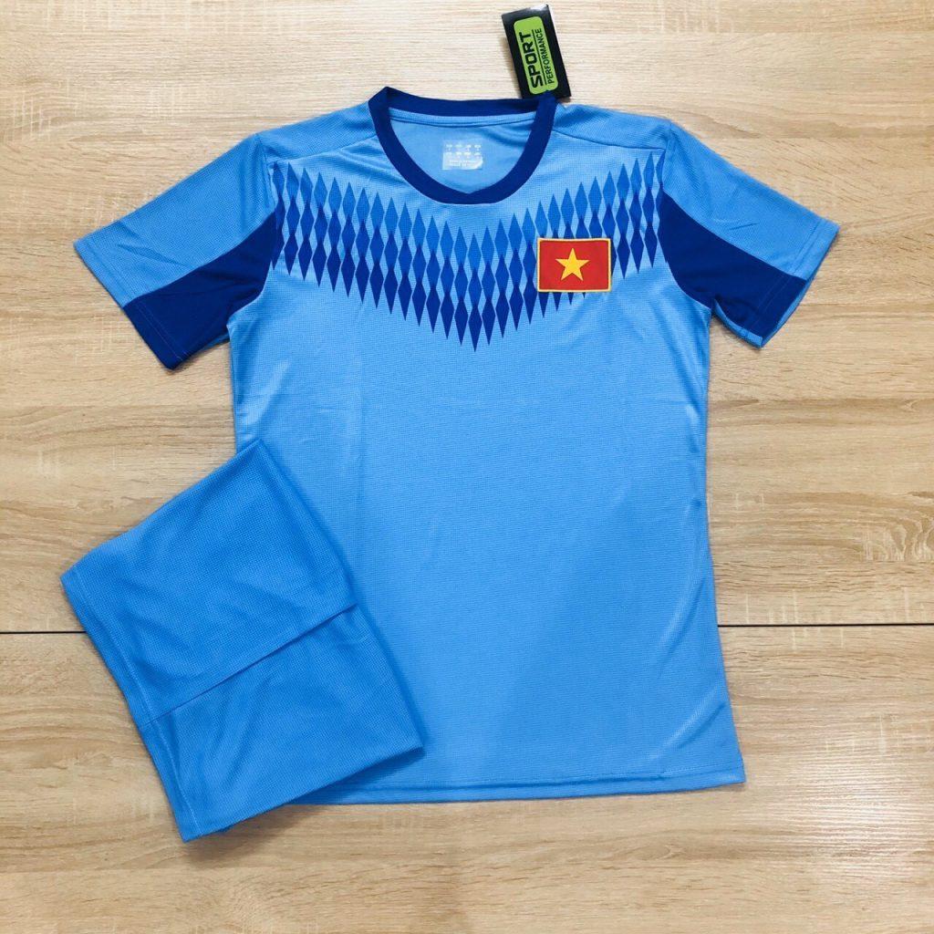 Áo bóng đá đội tuyển quốc gia Việt Nam màu xanh dương