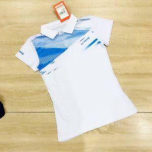 Áo cầu lông Lining màu trắng năm 2020 độc quyền Belo Sport