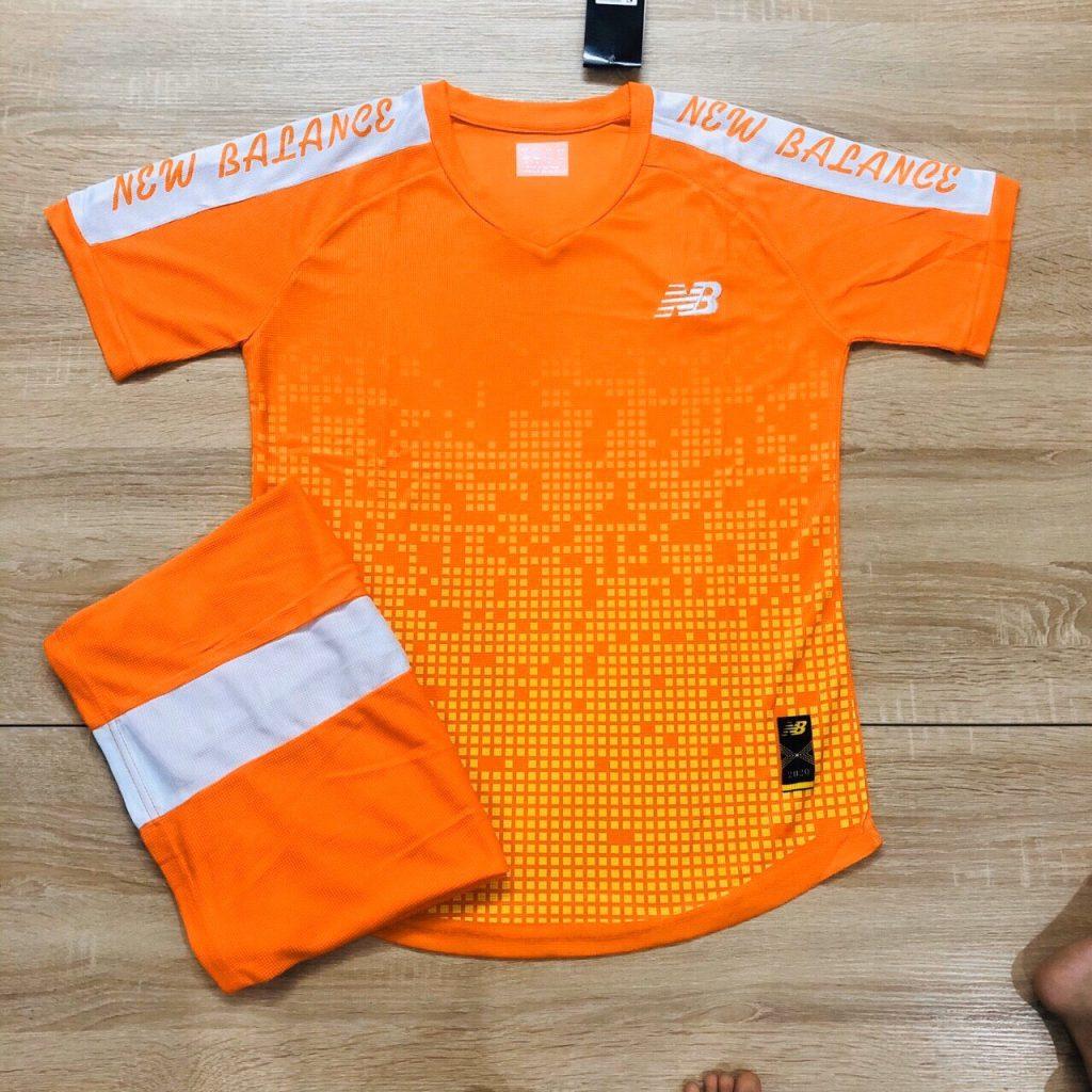 Áo bóng đá không logo NB2 màu cam 2020