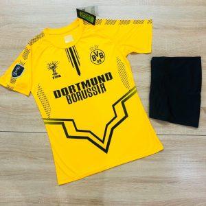 Áo bóng đá CLB Dortmund màu vàng năm 2020