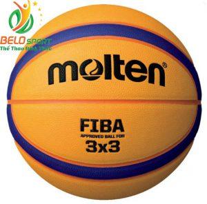 Quả bóng rổ 3×3 Molten B33T5000 chính hãng