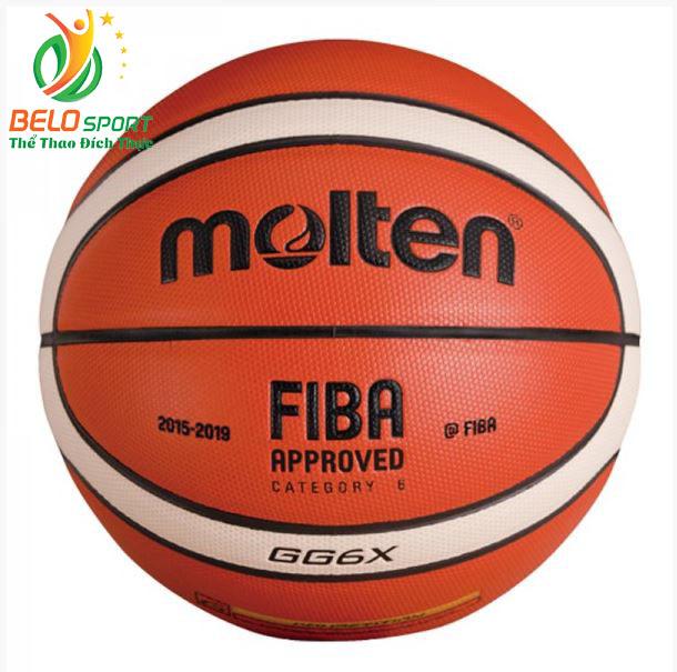Quả bóng rổ da Molten BGG6X chính hãng size 6