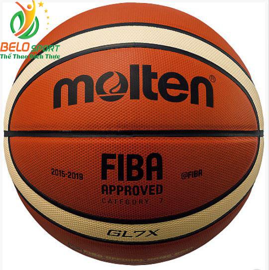 Quả bóng rổ Molten BGL7X da thật chính hãng size 7