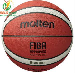 Quả bóng rổ Molten BG3800 chính hãng size 6