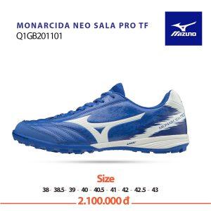 Giày bóng đá Mizuno Monarcida Neo Sala Q1GB201101 chính hãng