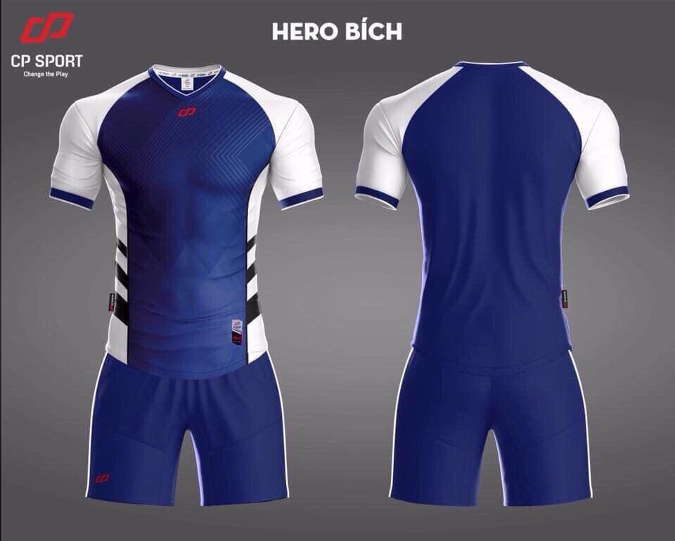 Áo bóng đá CP Hero màu xanh bích năm 2020