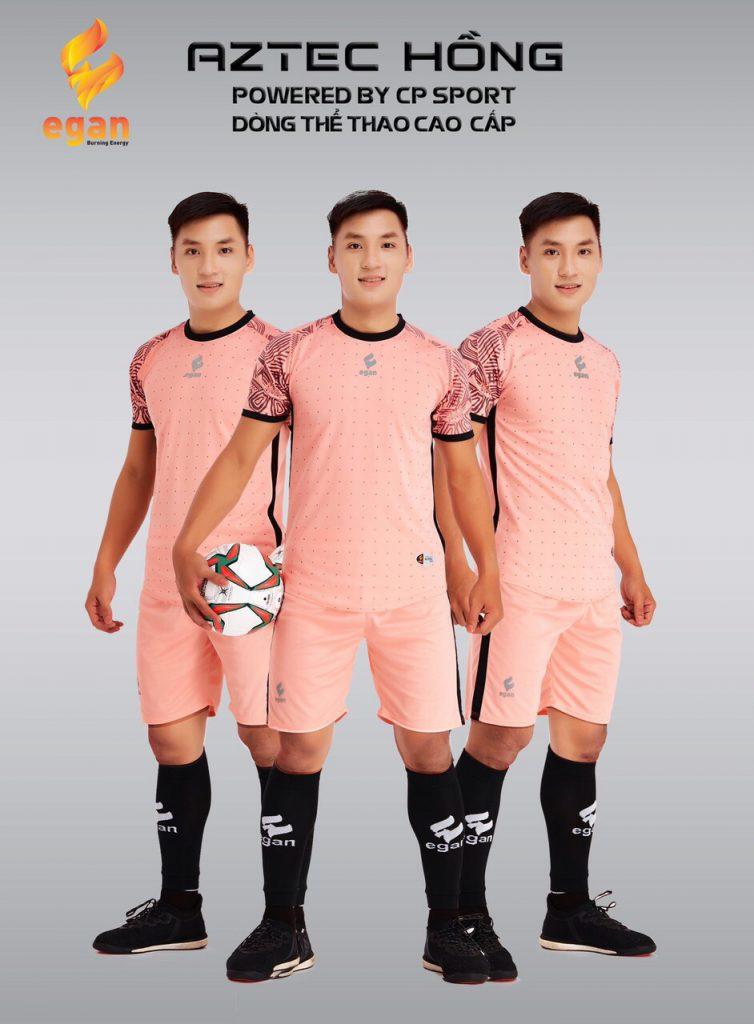 Áo bóng đá Egan Aztec màu hồng năm 2020