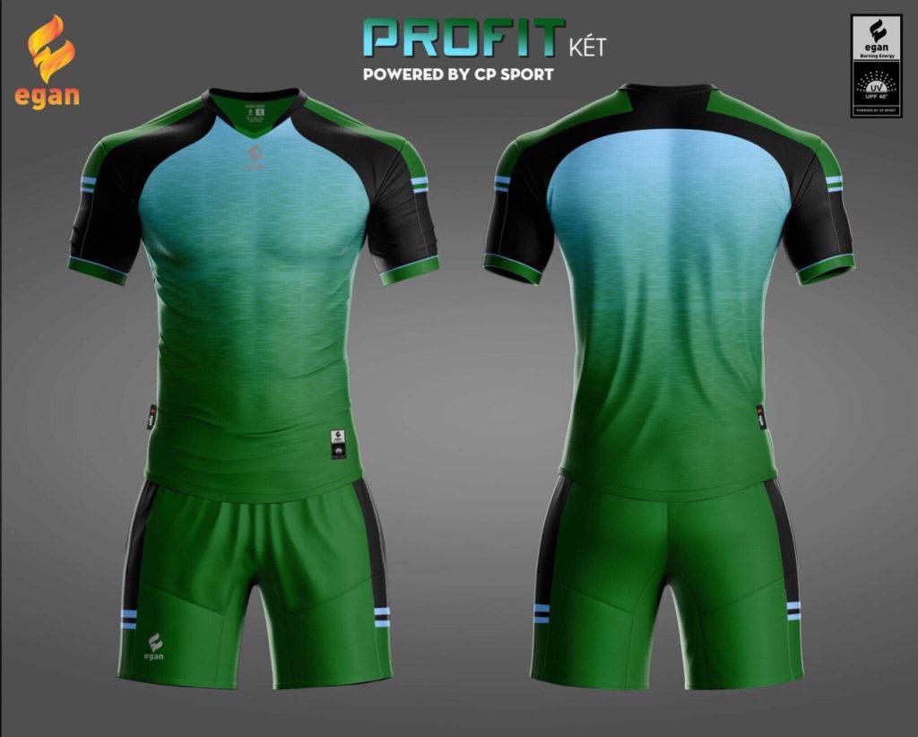 Áo bóng đá Egan Proifit màu xanh lục năm 2020