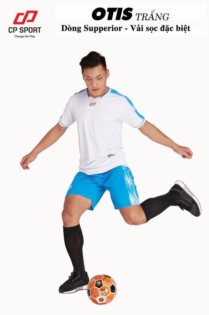 Áo bóng đá CP Otis màu trắng năm 2020