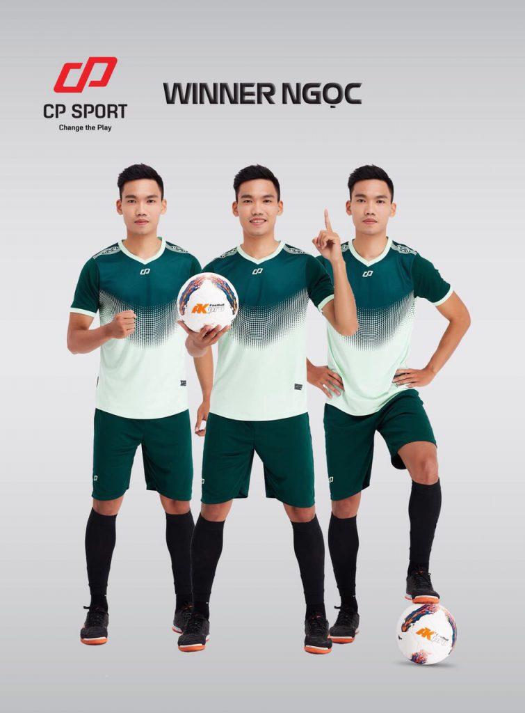 Áo bóng đá CP Winner màu xanh lục năm 2020