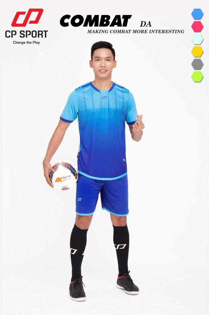 Áo bóng đá CP Combat màu xanh dương năm 2020