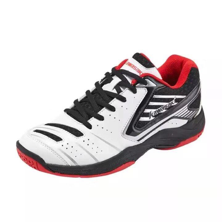 Giày bóng chuyền, cầu lông Kawasaki K161 màu trắng