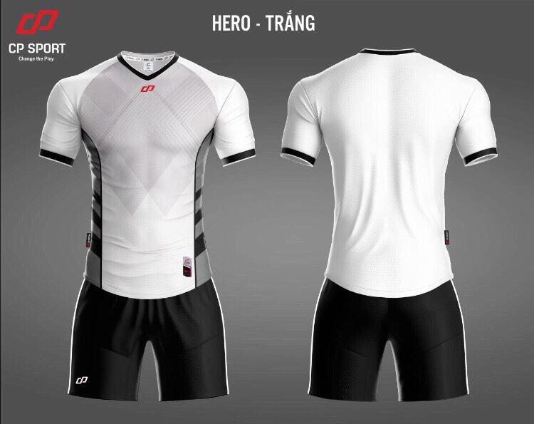 Áo bóng đá CP Hero màu trắng năm 2020