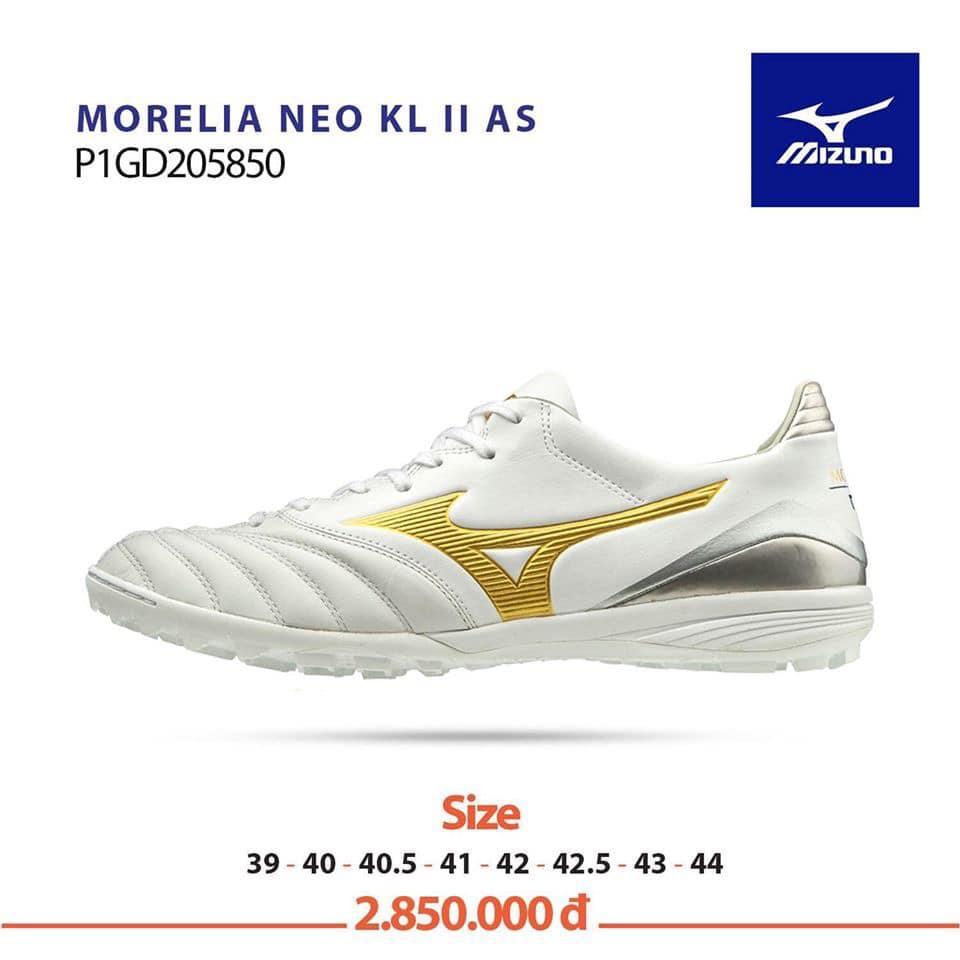 Giày bóng đá Mizuno MORELIA NEO KL II AS P1GD205850 chính hãng