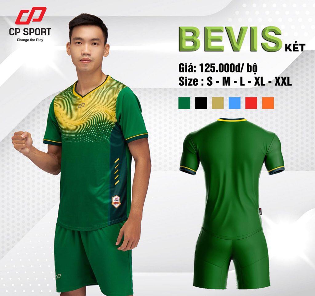 Áo bóng đá CP Bevis màu xanh lục năm 2020