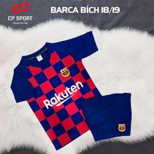 Áo bóng đá trẻ em CP CLB Barca năm 2020