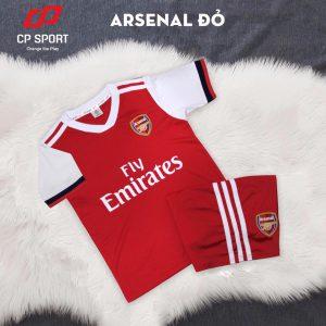 Áo bóng đá trẻ em CP CLB Arsenal màu đỏ năm 2020