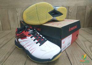 Giày bóng chuyền, cầu lông Kawasaki K063 chính hãng màu trắng đỏ
