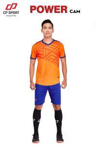 Áo bóng đá CP Power màu da cam năm 2020