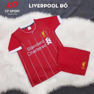 Áo bóng đá trẻ em CP CLB liverpool mà đỏ năm 2020