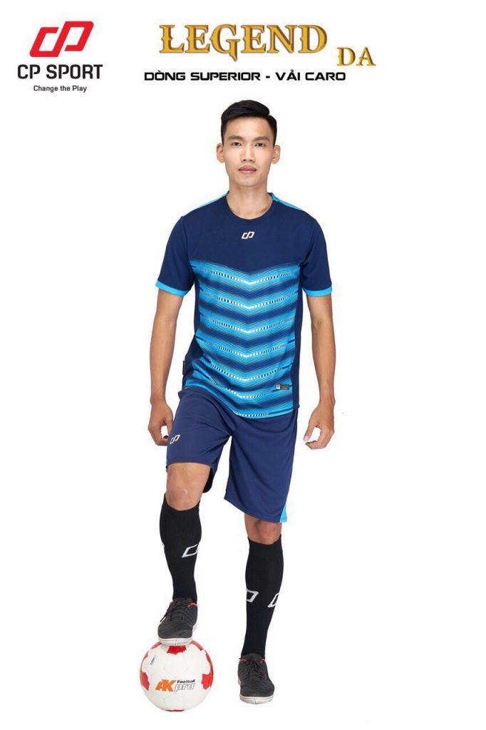 Áo bóng đá CP Legend màu xanh dương năm 2020