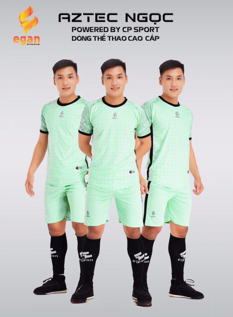 Áo bóng đá Egan Aztec màu xanh lục năm 2020