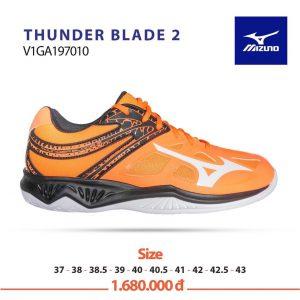 Giày bóng chuyền Mizuno THUNDER BLADE 2 V1GA197010 chính hãng