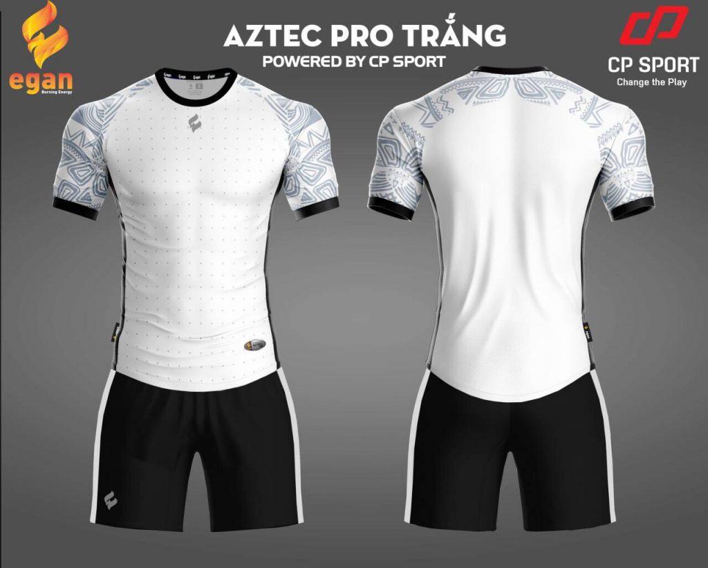 Áo bóng đá Egan Aztec màu màu trắng năm 2020