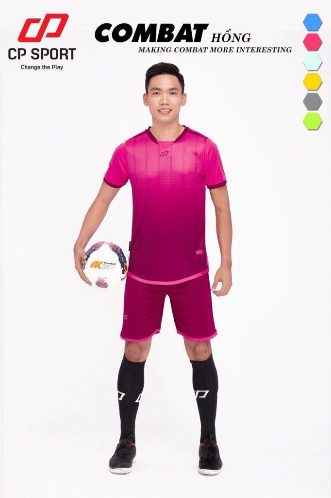 Áo bóng đá CP Combat màu hồng năm 2020