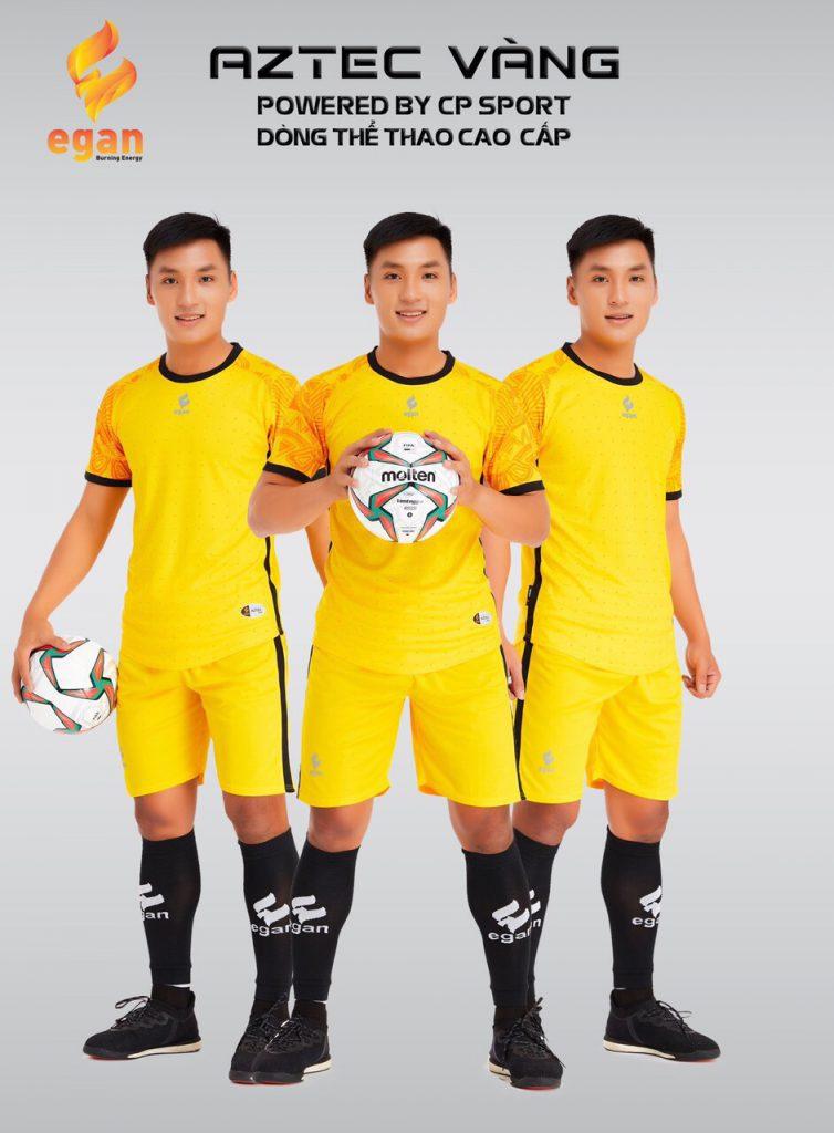Áo bóng đá Egan Aztec màu vàng năm 2020