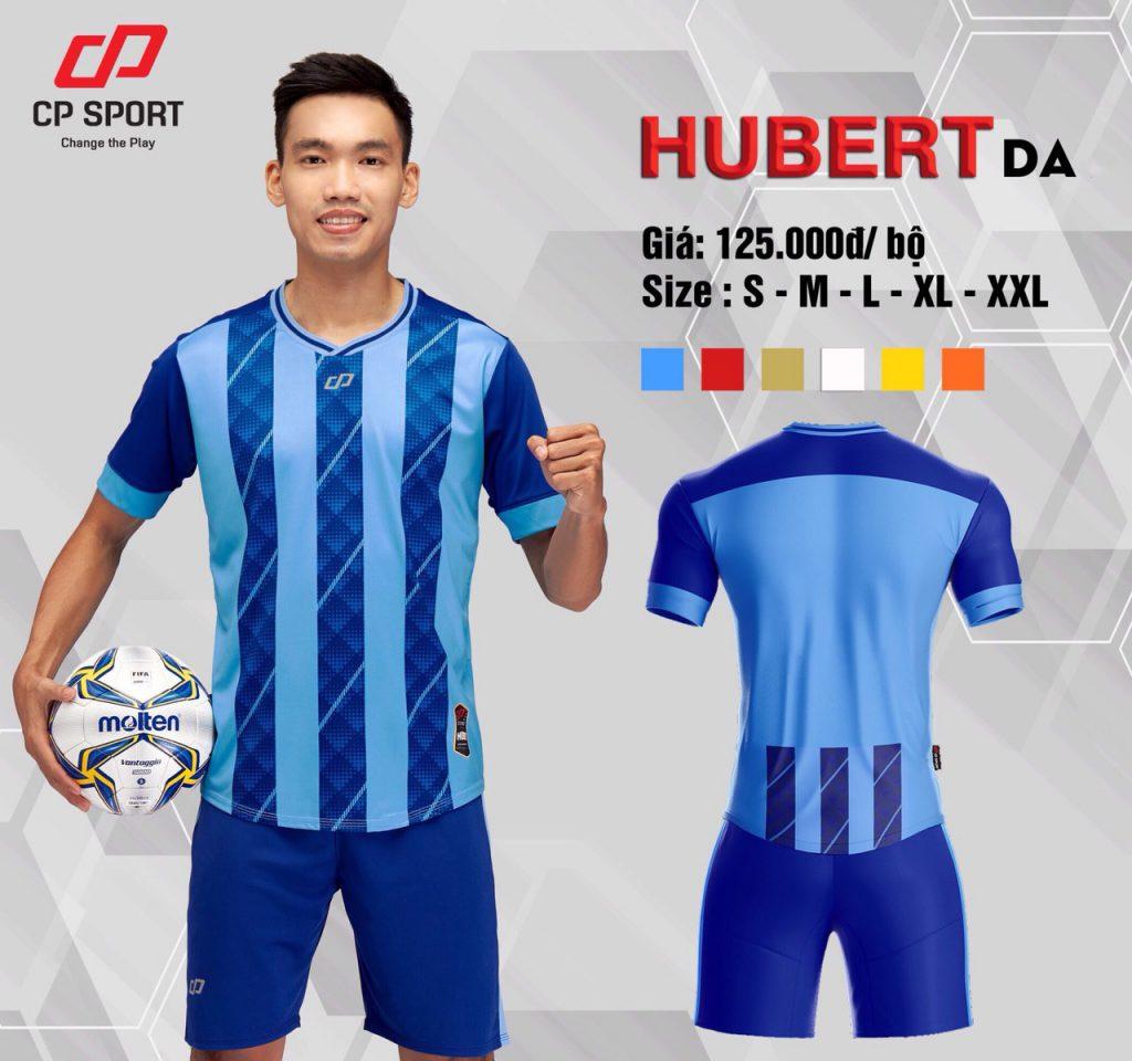 Áo bóng đá CP Hubert màu xanh dương năm 2020