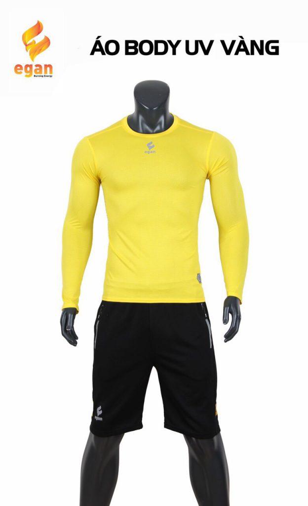 Áo lót body cao cấp Egan chống tia UV màu vàng