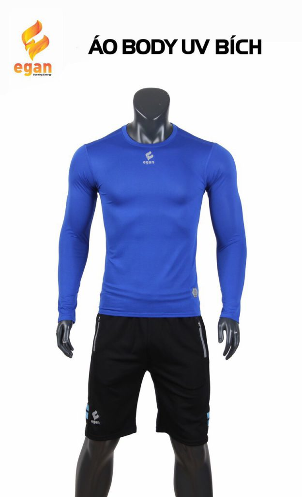 Áo lót body cao cấp Egan chống tia UV màu xanh dương đậm