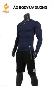 Áo lót body cao cấp Egan chống tia UV màu tím than