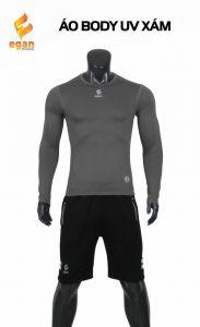 Áo lót body cao cấp Egan chống tia UV màu xám