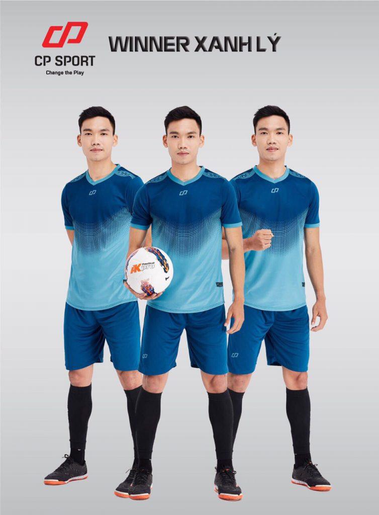 Áo bóng đá CP Winner màu xanh dương năm 2020