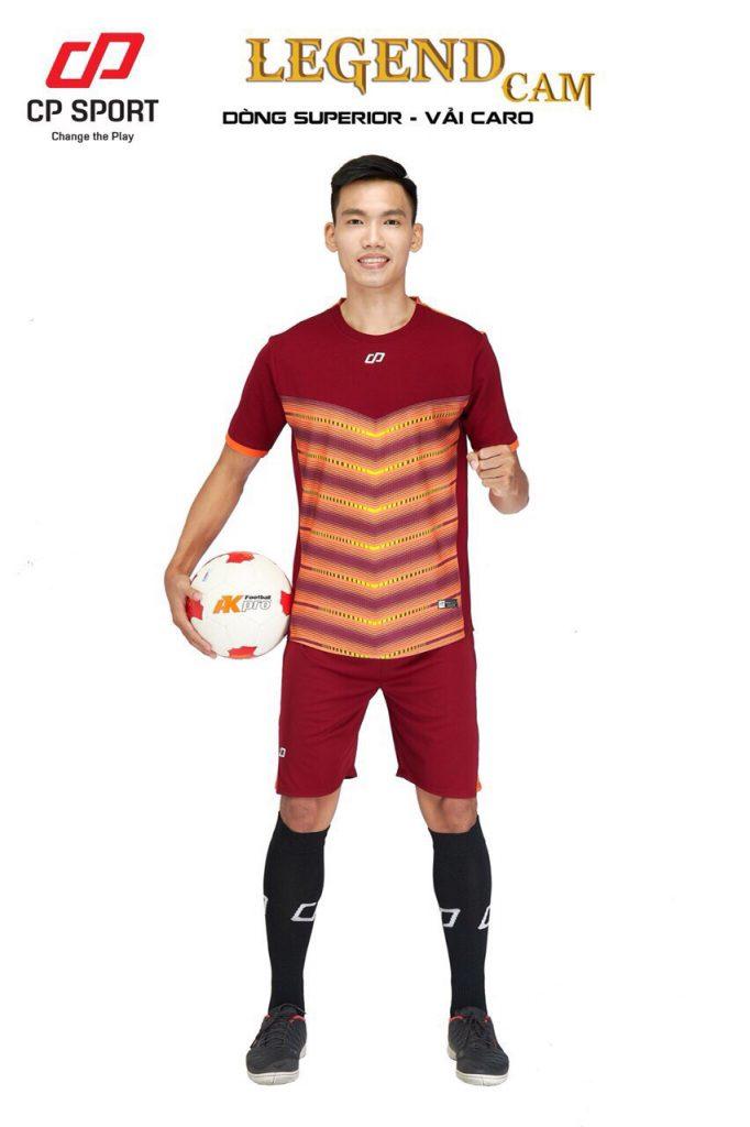 Áo bóng đá CP Legend màu cam đỏ năm 2020