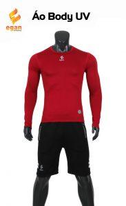 Áo lót body cao cấp Egan chống tia UV màu đỏ