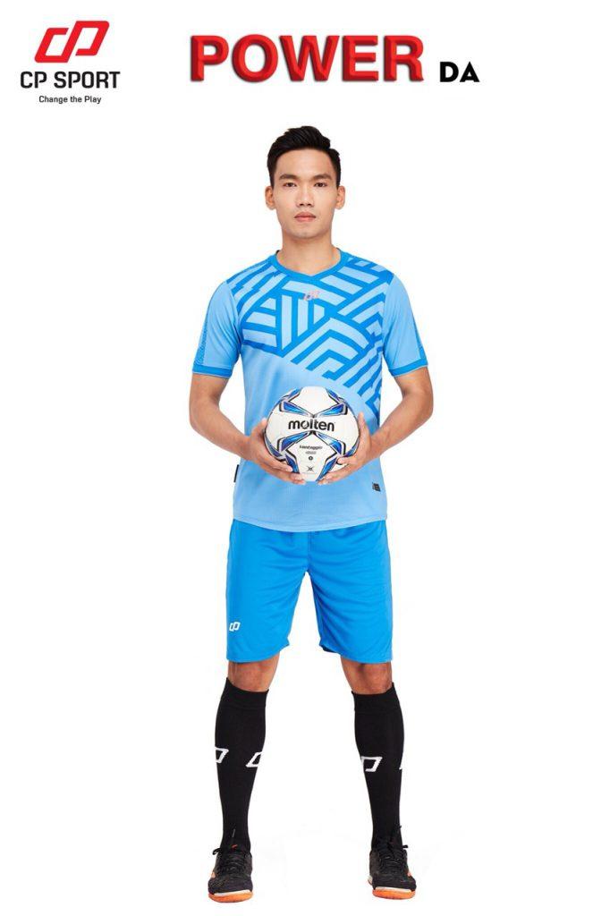 Áo bóng đá CP Power màu xanh da trời năm 2020