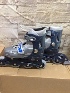 Giày trượt Patin mã 0705 màu xám bạc mới nhất 2020