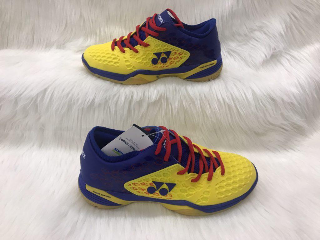 Giày cầu lông, bóng bàn Yonex màu vàng xanh mới nhất 2020