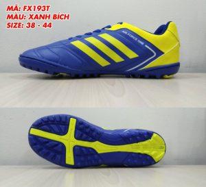 Giày bóng đá Prowin FX193T màu xanh phối vàng mới nhất 2020