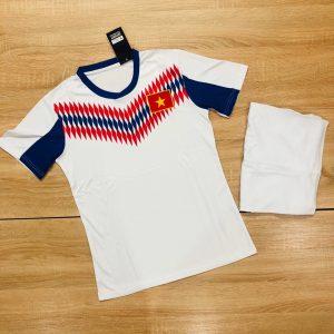 Áo bóng đá đội tuyển quốc gia Việt Nam màu trắng mới nhất 2020