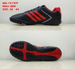 Giày bóng đá Prowin FX193T màu đen phối đỏ mới nhất 2020