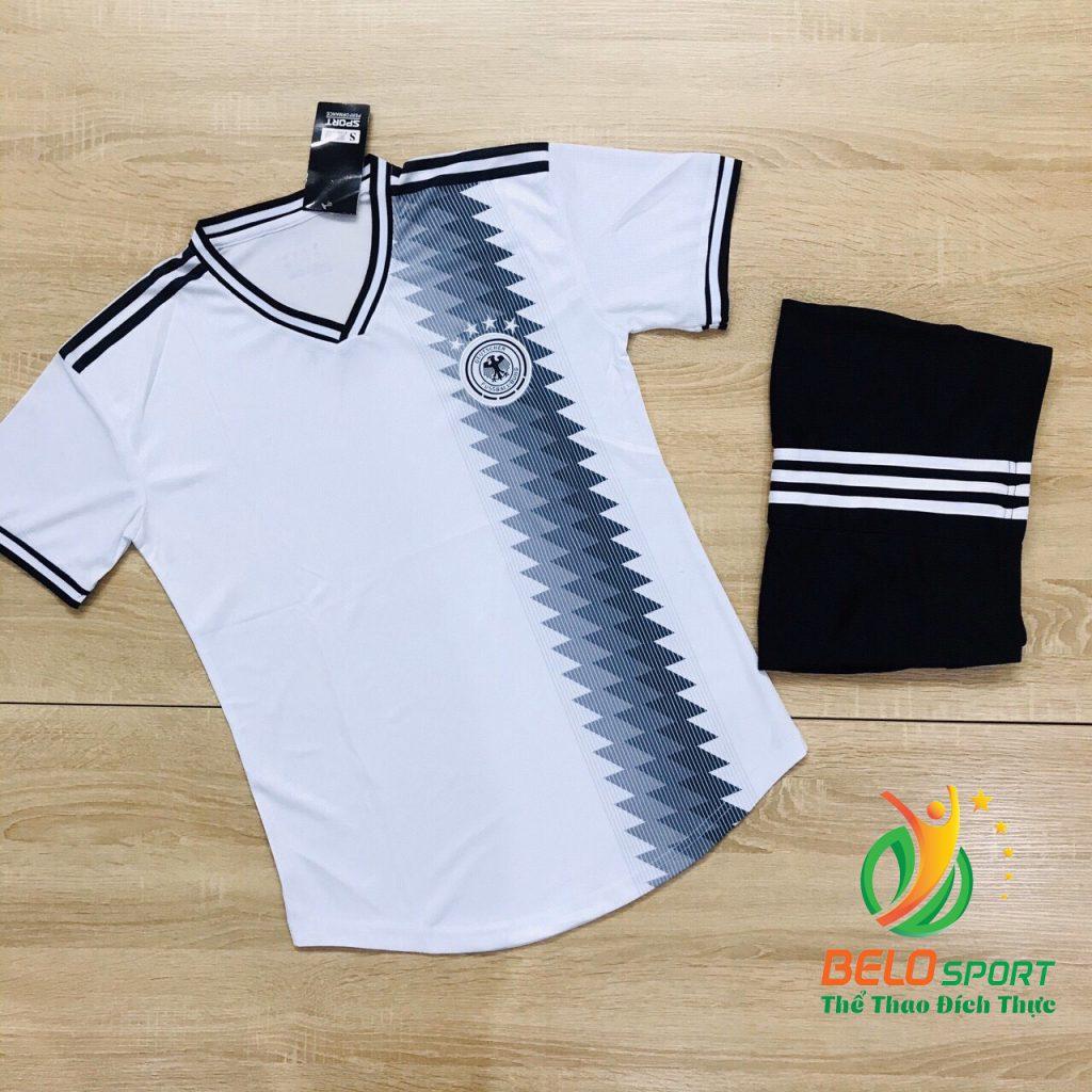 Áo bóng đá đội tuyển quốc gia Đức màu trắng mới nhất năm 2020