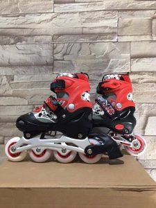 Giày trượt Patin mã 906 màu đen phối đỏ mới nhất 2020